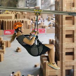 Flying Fox at The Ephemeral City
