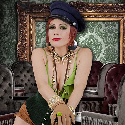 Christa Hughes is Oz Rockin' the Ladies Lounge