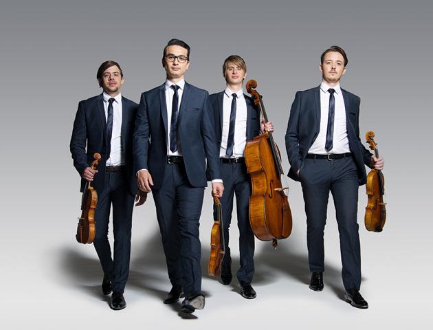 Orava Quartet at Sydney Town Hall